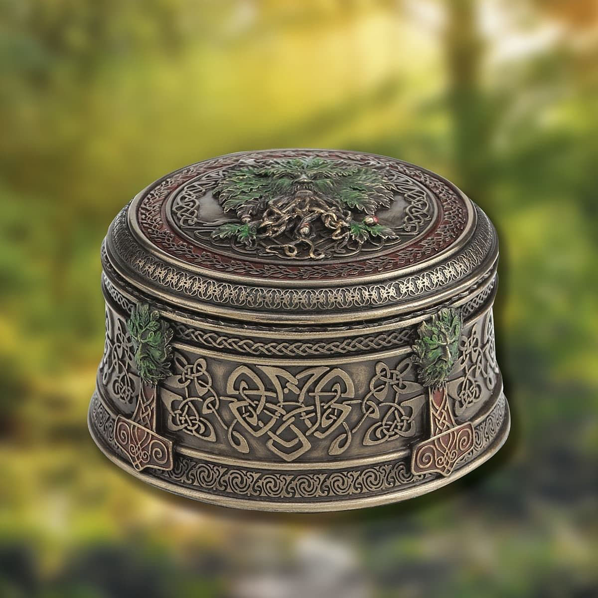 Picture of Green Man Trinket Box