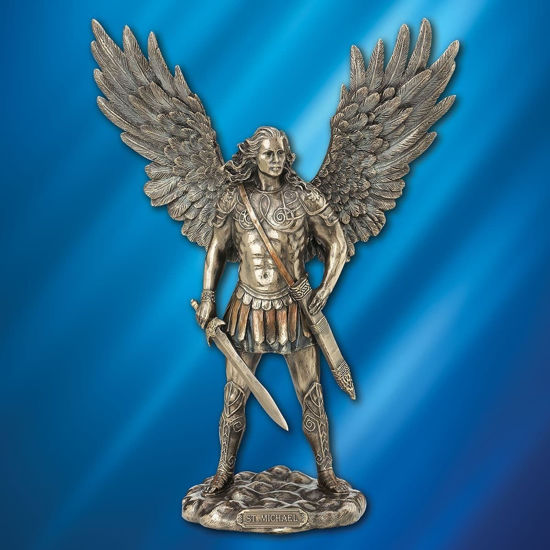 Picture of Saint Michael the Archangel Statue Figurine