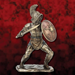 Picture of Murmillo Gladiator with Gladius Statue Figurine