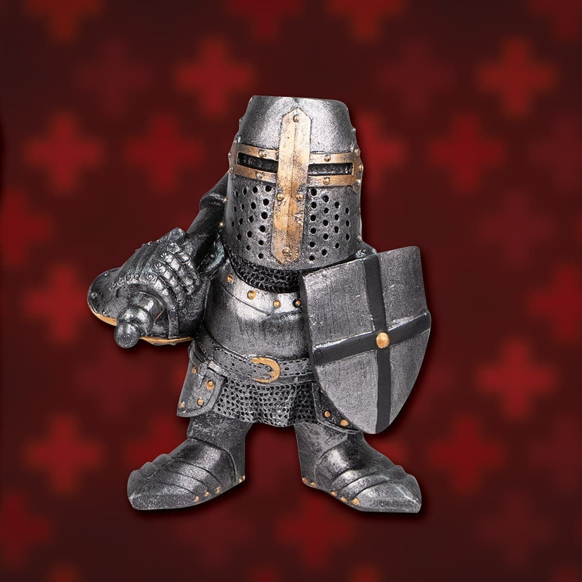 Picture of Shorty Crusader Armored Knight Statue
