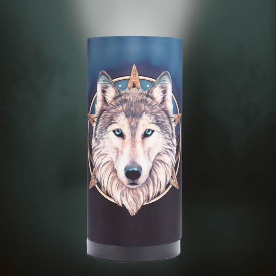 Picture of Wolf of the North Lamp