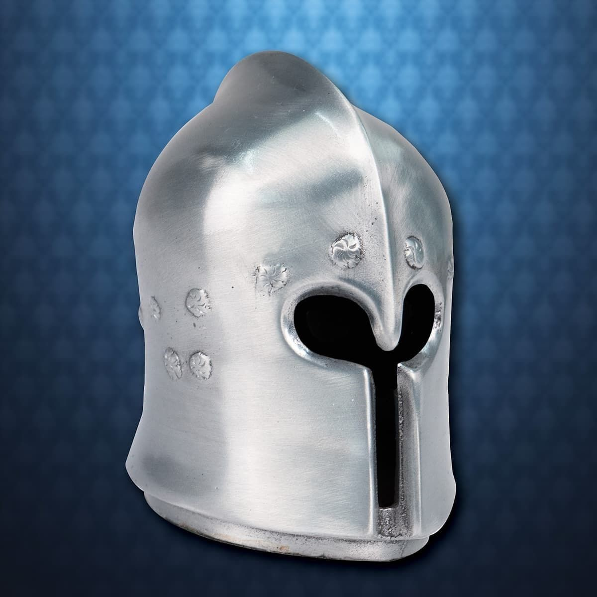 Mini Metal Barbute Helmet Paperweight