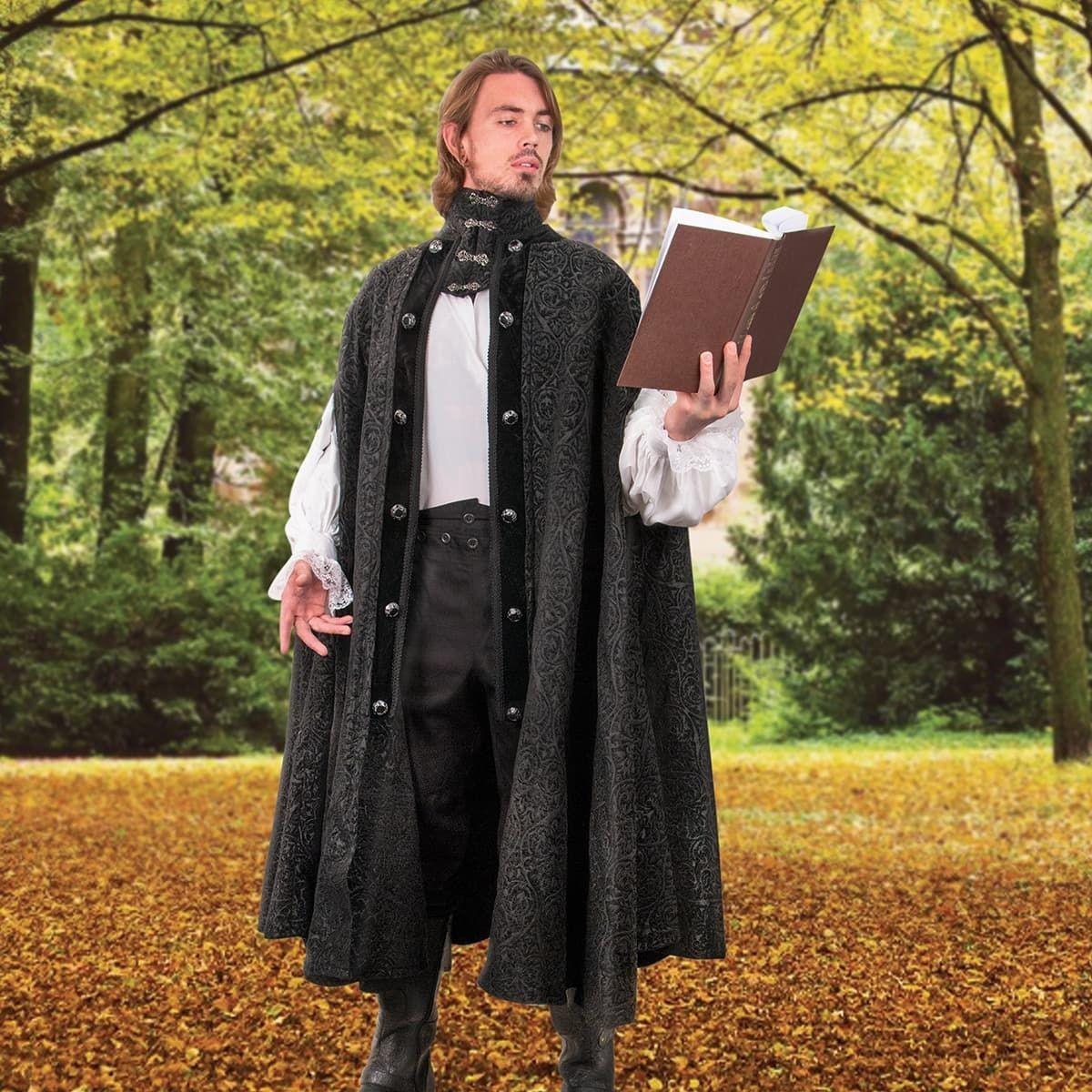 Stratford Brocade Cloak