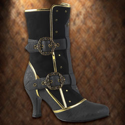 Picture of Viceroy Steampunk Boots for Women