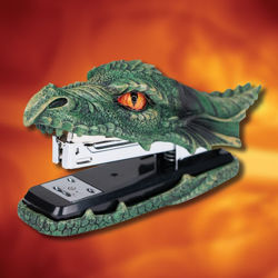 Green Dragon Stapler