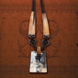 Ragnar Horn Necklace