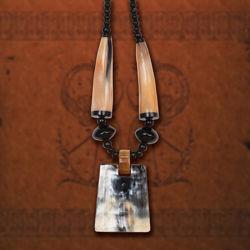 Ragnar Horn Necklace