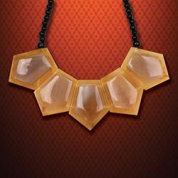 Freya Ladies Viking Horn Necklace