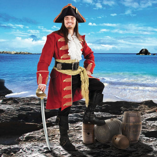 Captain Morgan Red Pirate Coat