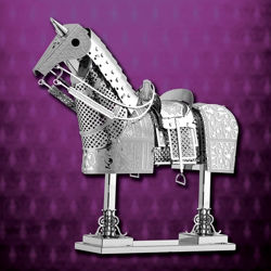 Metal Craft Kit Horse in Armor