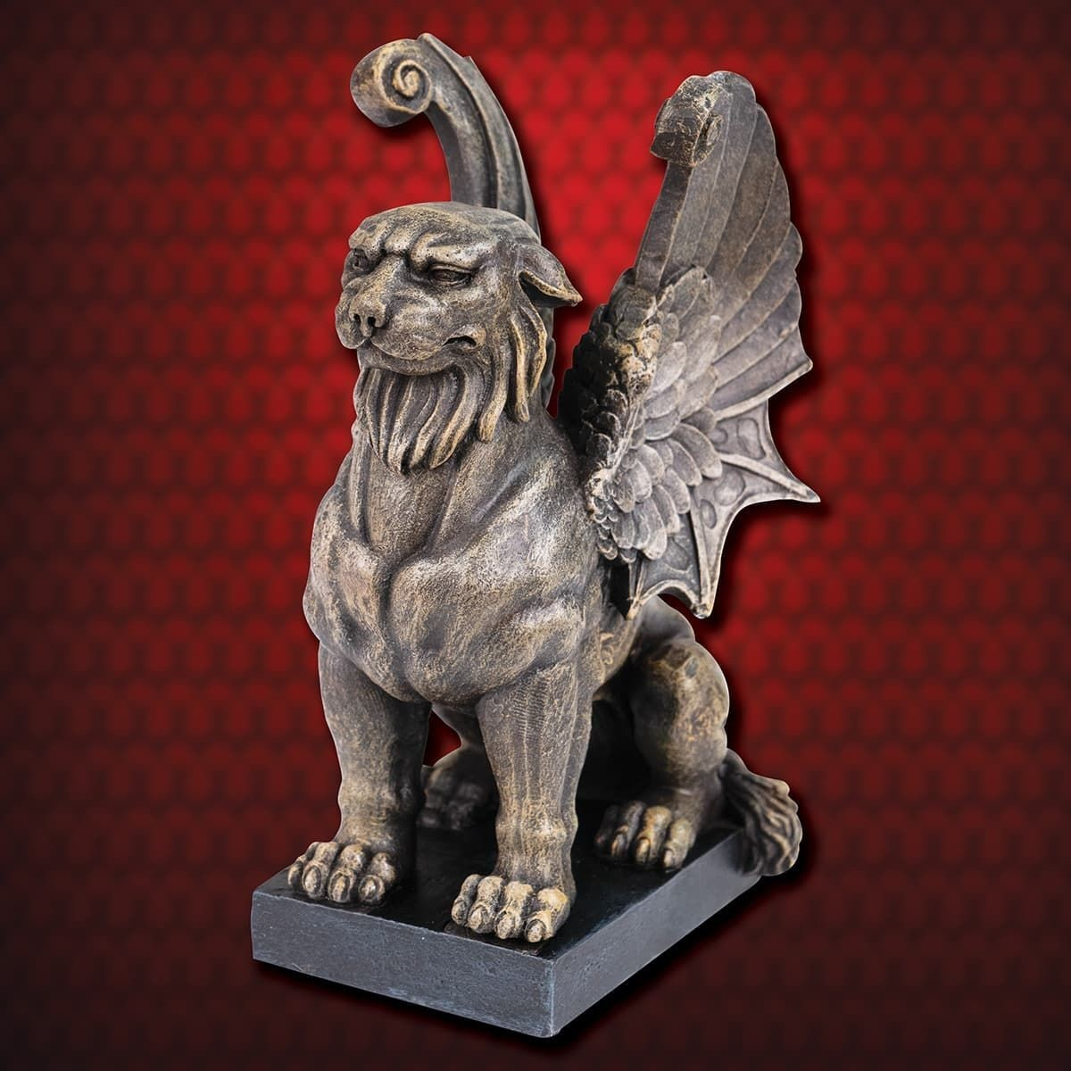 Gothic Panther Gargoyle Bookend