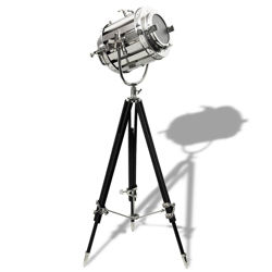 Replica Silent Era Movie Light on Tripod