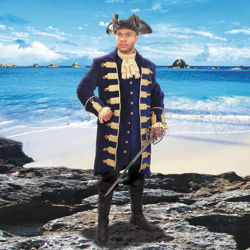 Barbary Coast Pirate Coat