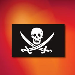 Calico Jack Indoor Outdoor Pirate Flag
