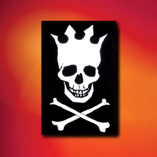 Skull with Crown Pirate Flag