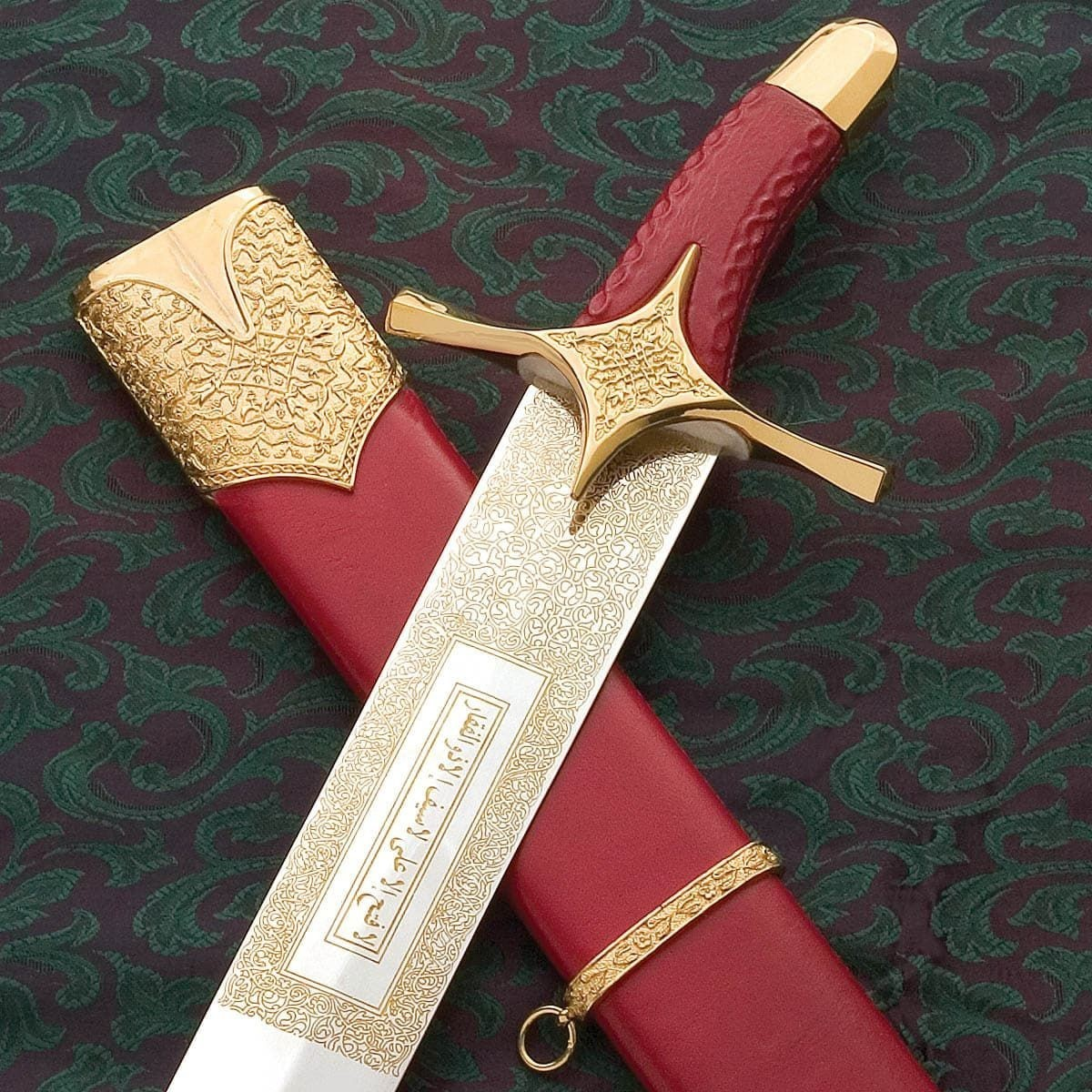 Hilt and Scabbard of Sword of 'Ali ibn Abu Talib by Windlass Steelcrafts