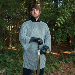 16 Gauge Butted Steel Mail Armor Shirt