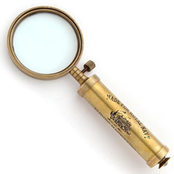 Royal Navy Sliding Magnifier