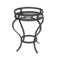 Hand Forged Iron Barbeque Stand