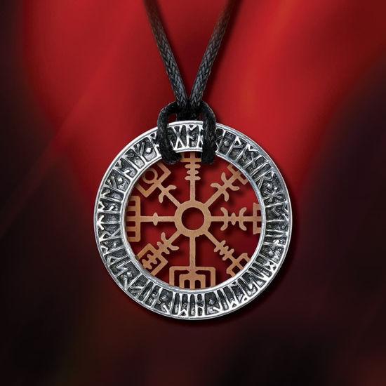 Niu Heimar Vegvisir Wayfinder Viking Pendant