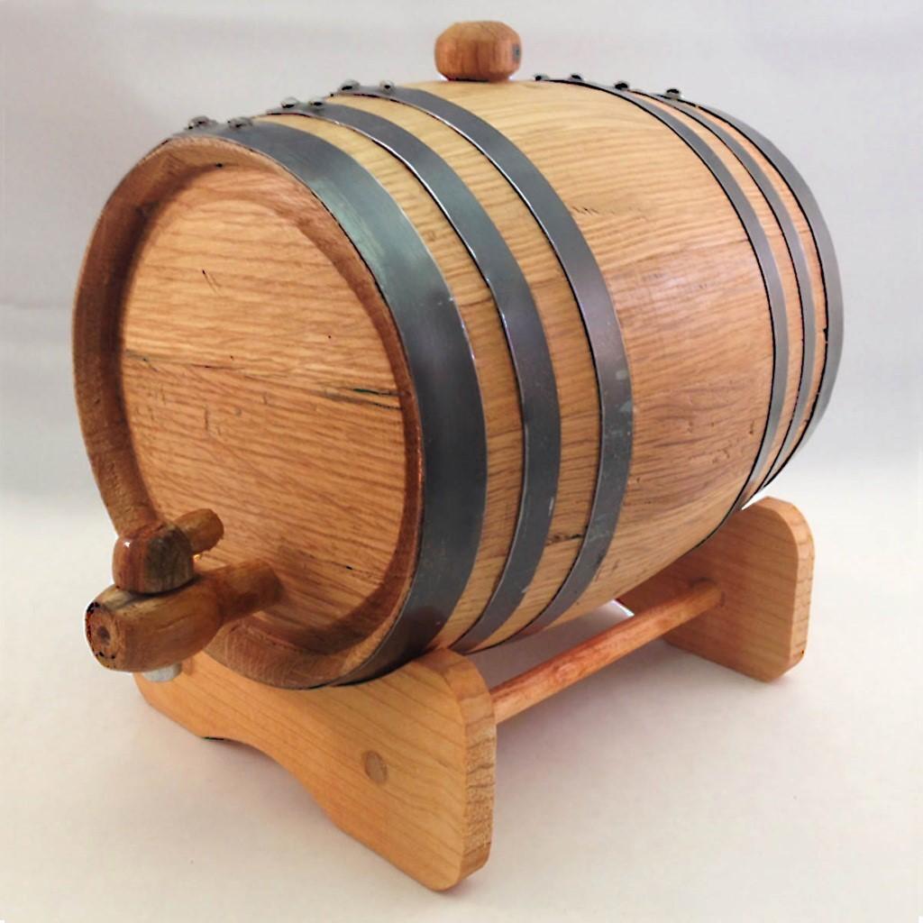 Picture of American Oak 2 Liter Aging Barrel