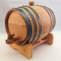 Picture of American Oak 2 Liter Aging Barrel