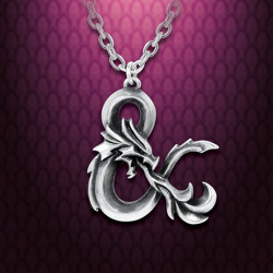 Dungeons & Dragons Pewter Pendant from Alchemy Gothic on Chain