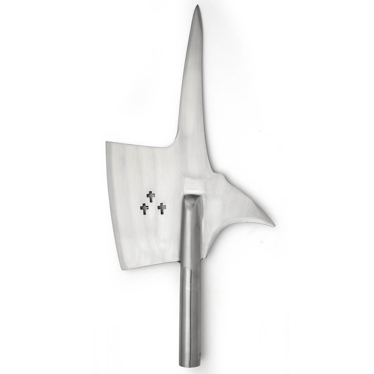 Swiss Halberd Head High Carbon Steel