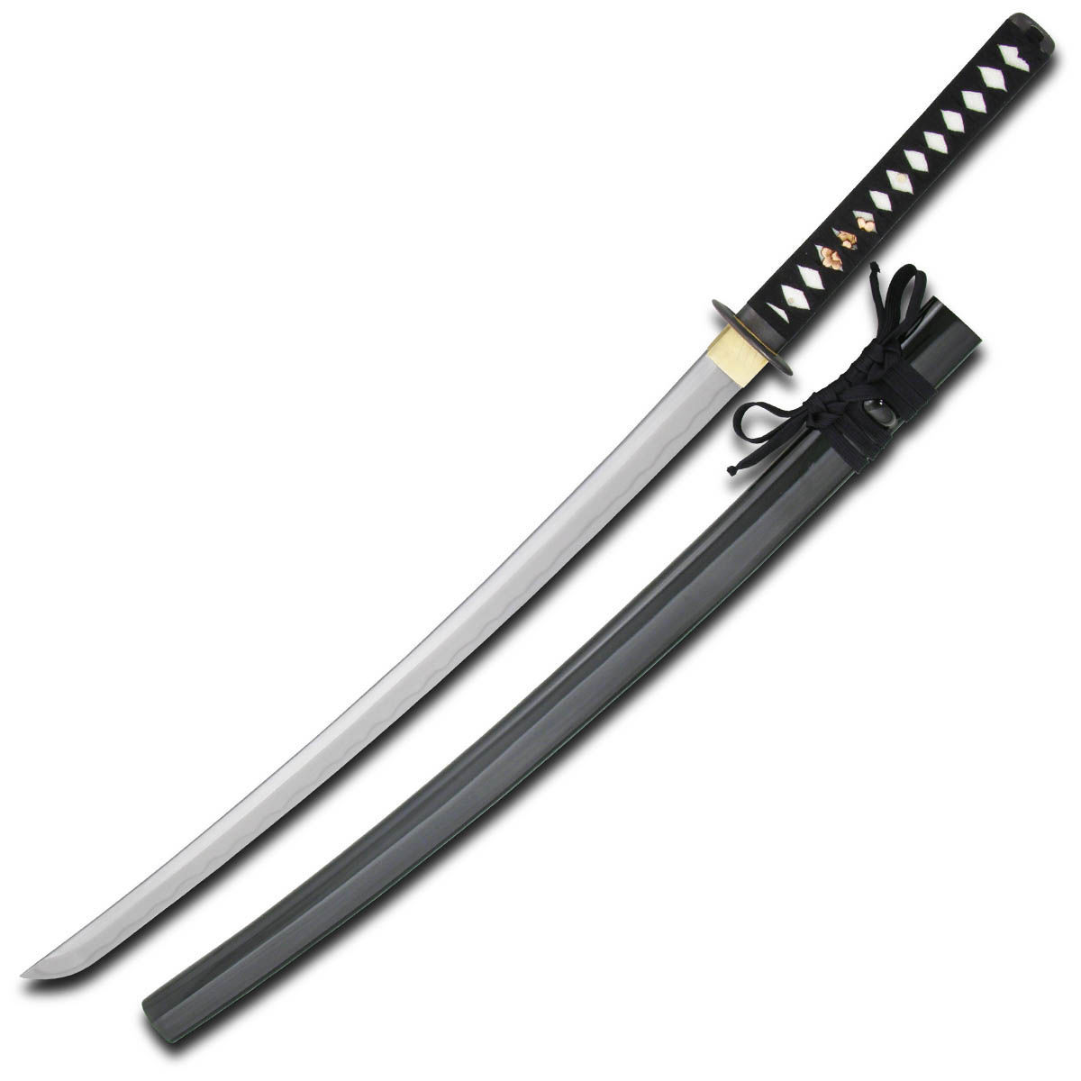 Practical XL Katana  features a wider blade than regular katanas for easier cutting of tatami mats