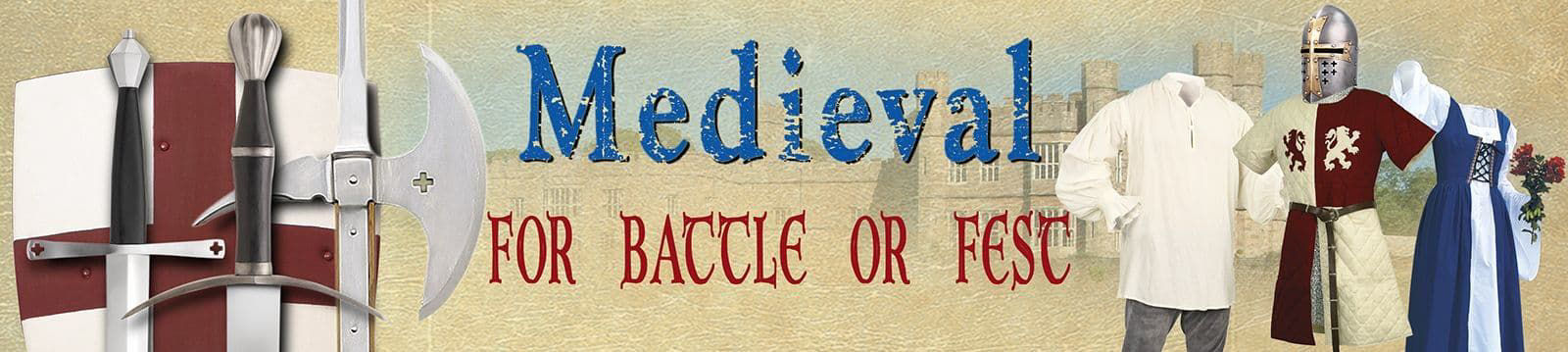 Medieval Clothing and Weaponry